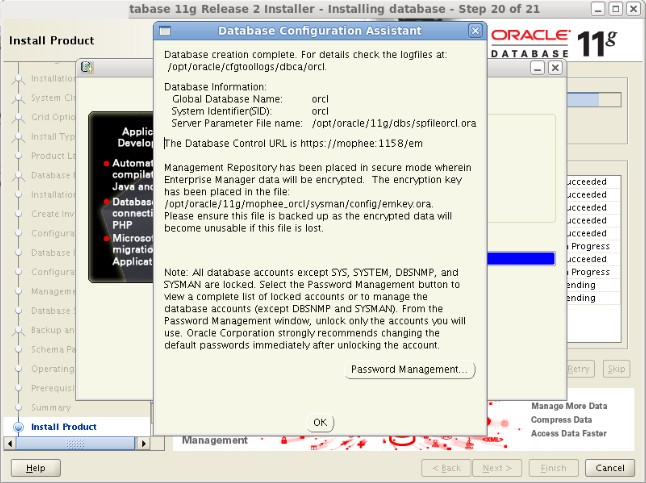 025-centos64-install-oracle-database-step20of21